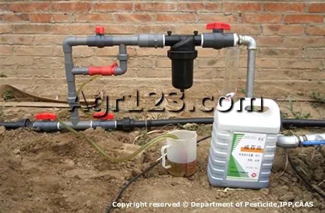 化学灌溉-滴灌施药